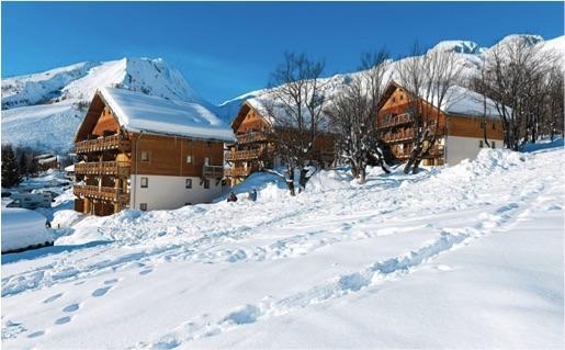 Trois pièces géré par Odalys en résidence de tourisme au ski à Saint Sorlin d'Arves