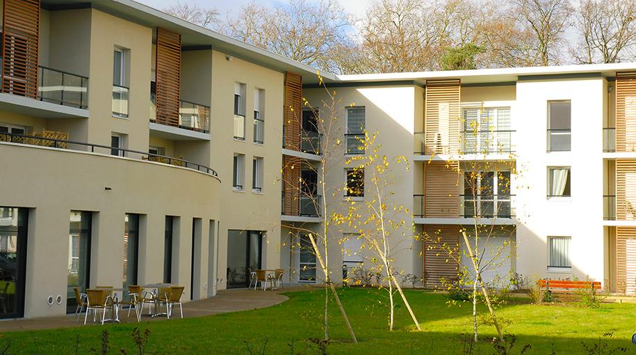 Deux pièces en résidence sénior gérée par Domitys - Châteauroux région Centre