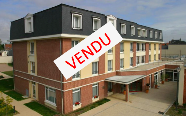 Chambre en résidence EHPAD gérée par Orpéa à Saint-Quentin