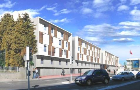 Studio en résidence étudiante gérée par Victory Gestion - Nîmes