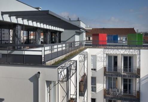 Deux pièces avec parking en résidence sénior géré par Domitys à Lyon